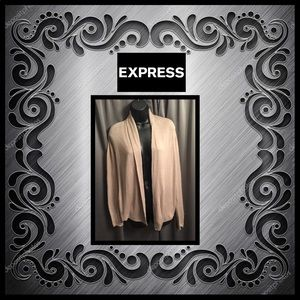 Express Taupe Sweater Shrug